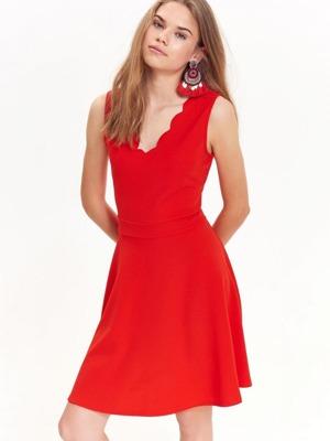 Top Secret šaty dámské červené bez rukávu  94d572f844