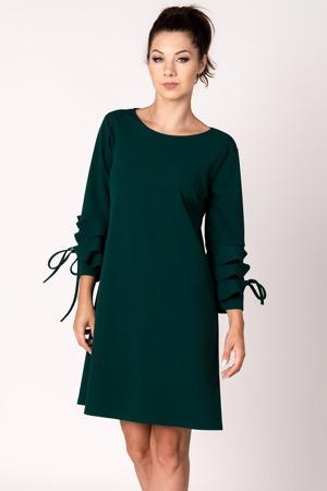 bae03ffe85d Vínovo-krémové pruhované šaty VILA Vitinny