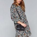 Top Secret Šaty dámské barevné s 3/4 rukávem