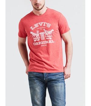 tricko-levi-s-2horse-graphic-tee-ssnl-2h-aura-orange-cervena.jpg