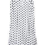 Dámská maxi sukně bílá s puntíky (99ART)