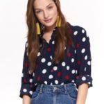 Top Secret Košile dámská s puntíky a dlouhým rukávem