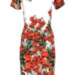 Dámské šaty Kleid sixana bílo-červená – Favab