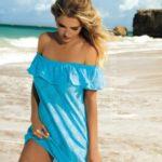 Dámské šaty – pareo Self D 56S