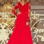 Dlouhé šaty  model 123240 Numoco