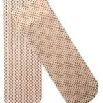 Ponožky s potiskem drobných čárek 06