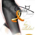 Punčochové zeštíhlující  šortky191 Long shorts – beauty bye cellulite – Gatta