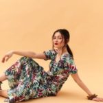 Top Secret Šaty dámské REVY květované maxi