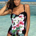 Jednodílné dámské plavky Marko Rebecca M-422