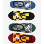 Ponožky Vans Wm 1-6 4Pk Hogwarts Harry Potter Barevná