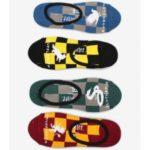 Ponožky Vans Wm 7-10 4Pk Hogwarts Harry Potter Barevná