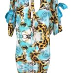 Dámské šaty Santi s mašlí – Taffi