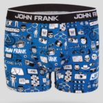 Pánské boxerky John Frank JFBD216