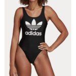 Plavky adidas Originals Trf Swimsuit Černá