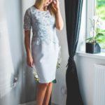 Společenské šaty  model 134316 Jersa