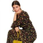 Top Secret Šaty dámské BABLASA s dlouhým rukávem, maxi