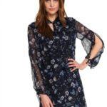 Top Secret Šaty dámské SWEETYX s dlouhým rukávem