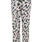 Dámské kalhoty QS6027E-CQ1 vícebarevná – Calvin Klein