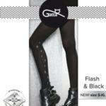 Dámské punčochové kalhot FLASH&BLACK