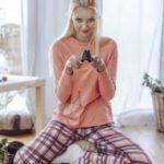 Dámské pyžamo LNS 403 B19