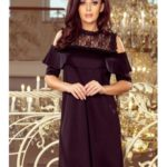 Numoco šaty dámské NUMALI s krátkým rukávem