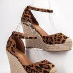 Dámské sandály na vysokém klínku GOM1-LEO – JANEWAY
