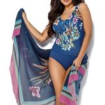 Jednodílné dámské plavky Ava SKJ 21 Maxi