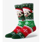 Ponožky Stance Mickey Claus Multi Barevná