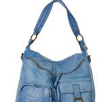 Přírodní kožená taška model 142351 Mazzini