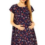 Těhotenské šaty Penny s květy