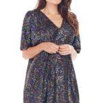Večerní šaty model 139580 awama