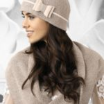 Dámská čepice Bolonia béžová – Kamea