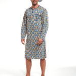Pánská noční košile s dlouhým rukávem 110/643301 – Cornette