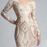 Béžové dámské šaty SOKY SOKA 62007-1