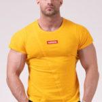 Nebbia Tričko 172 Label Muscle Back – Orange