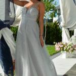 Šedé dámské šaty EVA & LOLA 60009-3