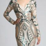Zelené dámské šaty SOKY SOKA 62007-2