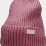 Dámská zimní čepice 4F CAD204 Lososová