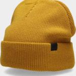 Pánská čepice 4F CAM303 Žlutá