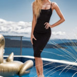 Dámské šaty Midi Rebellious Dress – ChickChick