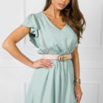 Letní šaty RUE PARIS Mint