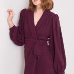 BSL Burgundské šaty