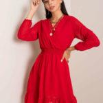 RUE PARIS Červené šaty
