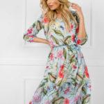 Dámské květinové šaty 507218 – FPrice