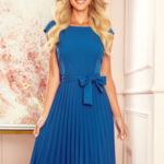 Dámské šaty  311-4 LILA – NUMOCO