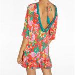 Květinové šaty 85726 červená – Ysabel Mora