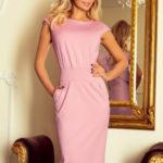 Večerní šaty model 146171 Numoco  Sukienka Model Sara 144-9 Lila – Numoco