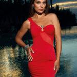 Dámské sexy šaty V-9089 – Axami
