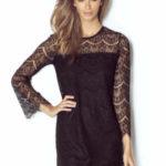 Večerní šaty model 142890 IVON  Sukienka Model Romanica Black – IVON