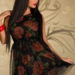 Letní šaty s tylem